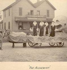 Late 1800's Mardi Gras float