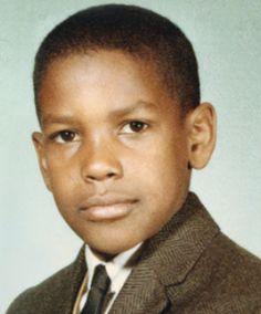 Denzel Washington (b. 1954)   http://kuweight64.blogspot.fr/2013/01/amazing-childhood-photos-of-celebrities.html  Kuweight 64: AMAZING CHILDHOOD PHOTOS OF CELEBRITIES AND POLITICIANS