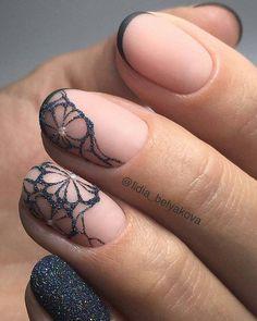 Top 30 Trending Nail Art Designs And Ideas - Nail Polish Addicted Metallic Nails, Acrylic Nails, Gel Nails, Nail Polish, Coffin Nails, Simple Nail Designs, Nail Art Designs, Cute Nails, Pretty Nails
