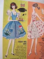 vintage Barbie outfits