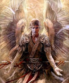 The Angel Appears to Tobias' Saint Raphael the Archangel ...
