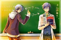 kaito+project+diva+f+wink   Pixiv Id 135695, Project DIVA F, Vocaloid, KAITO, Headphones Around ...