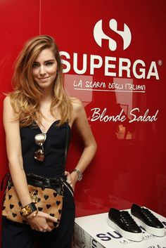Superga for The blonde Salad, the new Capsule Collection! #Superga4TheBlondeSalad