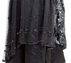 Edwardian Clothing at Vintage Textile: #c416 Sequined dinner dress
