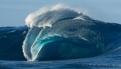 That is a freak wave. Photo: Russell Ord