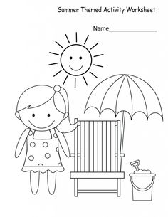 See our interesting worksheets on various subjects and get the kids started on them! In this page, we have a collection of printable Activity Worksheets for Kids which will help you brushing up different concepts of different subjects for your kids. Coloring Worksheets For Kindergarten, Seasons Worksheets, Summer Worksheets, Worksheets For Kids, Reading Worksheets, Summer Coloring Sheets, Coloring Pages For Kids, Art Drawings For Kids, Printable Activities For Kids