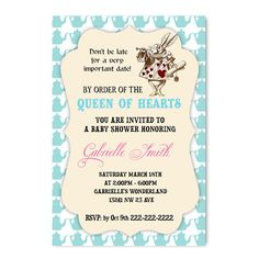 Alice in Wonderland Printable Baby Shower Games Bingo Word baby