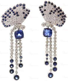 VAN CLEEF & ARPELS Sapphire Diamond...
