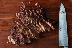 Brisket isn't just the perfect cut for summer barbecues -- it's also great slow-braised with wine and apricots for a cozy autumn dinner.
