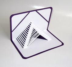 3D Pop Up STAIRS 2 LOVE Home Decor Origamic by BoldFolds on Etsy, $25.00