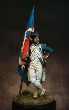 French Revolutionary Standard Bearer by Alessandro · Putty&Paint