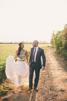 Bohemian wedding ideas #weddingdress #couples #bohoweddings