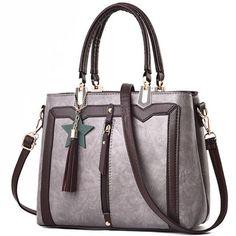 Retro PU Star Tassel Lady Shoulder Bag Women Handbag – Purses And Handbags For Teens Unique Handbags, Popular Handbags, Cute Handbags, Cheap Handbags, Purses And Handbags, Luxury Handbags, Ladies Handbags, Fall Handbags, Canvas Handbags