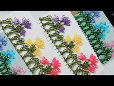 iğne oyası yazma | needle lace | el işi | diy - YouTube