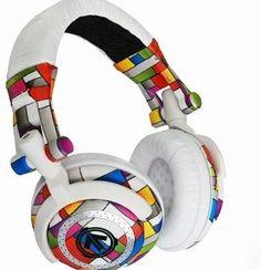 mondrian inspired - Google Search - cool headphones