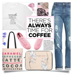 """Buzz-Worthy: Coffee Date (2)"" by samra-bv ❤ liked on Polyvore featuring KUT from the Kloth, Novesta and Bésame"