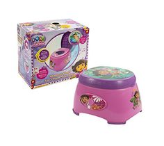 #shopping #Dora the #Explorer & Boots swing into potty training fun with this 3-in-1 Potty Chair. The perfect size for little ones who are just starting out potty...