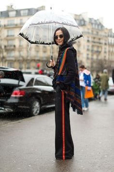 French fashion is nothing short of magnifique. Here are 182 looks at the best street styles from Paris Fashion Week: