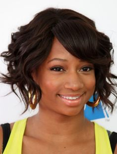 Monique Coleman Hairstyle