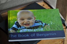 Ben's baby book, baby interview book, and baby journal, all in one. Also includes weekly photos and monthly photos from the first year.
