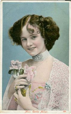 """Gertrude """"Gertie"""" Millar was an English actress and singer of the early 20th century, known for her performances in Edwardian musical   1879-1952"""
