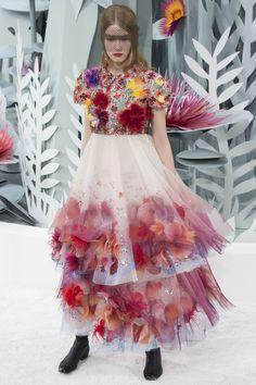 Couture spring/summer 2015 trend: florals, nature | British Vogue