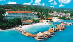 Ocho Rios, Sandals...loved this place. Of the 4 resorts we've been to in Jamaica, it was the prettiest (Sandals Montego Bay, Sandals Dunn's River and Couples Ocho Rios)