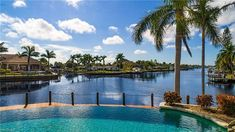 Property 4951 W Triton CT, Cape Coral, FL 33904 - MLS® - Custom built Mediterranean-style waterfront home with plus sq. Luxury Pools, Cape Coral, Florida, Real Estate, Outdoor Decor, Home Decor, Homemade Home Decor, The Florida, Real Estates