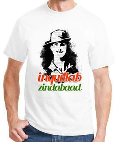 cfd8810a6 Inquilab Zindabad Bhagat Singh T-Shirt For Men