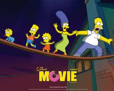 The Simpsons, the animated television series created by Matt Groening for the Fox Broadcasting Company