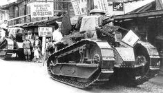 Japanese Army FT light tank, date unknown
