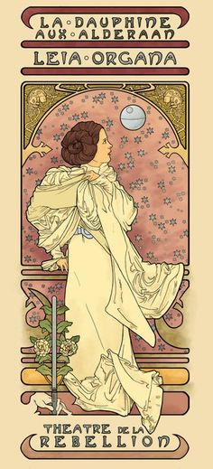 star wars Art Nouveau | Fashion and Action