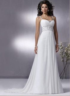 I'm not busty enough to necessarily need the straps but I love how elegant and simple but still gorgeous this is.
