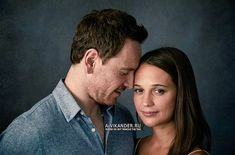 Alicia Vikander and Michael Fassbender photographed by Richard Phibbs - 2016 Matt Smith Lily James, Alicia Vikander Style, Michael Fassbender And Alicia Vikander, Anthony B, The Light Between Oceans, A Royal Affair, The Danish Girl, I Believe In Love, Ex Machina