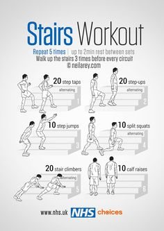 Gym-free workouts - Live Well - NHS Choices