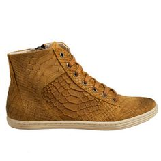 Adele Sneaker Cognac, 115€, now featured on Fab.