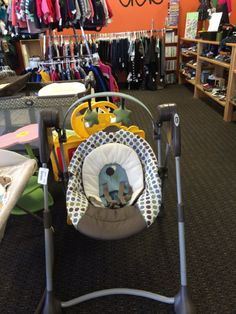 Graco Swing - Keep your child content for hours with this Graco swing.  This swing also has 3 different height adjustments.  Click the link below to see more of the great merchandise available at Lily Pads! - $35.00