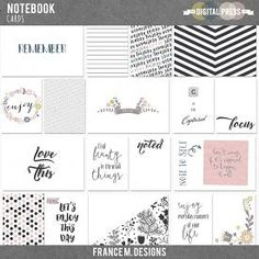 Notebook | Cards