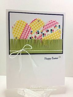 Stampin' Up! Easter by ARTfelt Impressions: Washi Easter Eggs