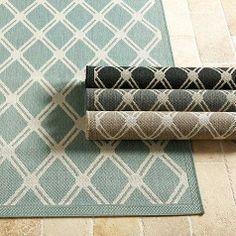 geometric indoor outdoor rug