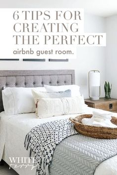 Airbnb has made it easier than ever to list bedrooms (or even your whole home) on demand. But being a great Airbnb host Guest Room Decor, Bedroom Decor, Airbnb Design, Airbnb House, Home Selling Tips, Guest Bedrooms, My Living Room, Home Buying, Wordpress