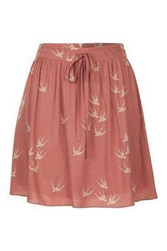 Naf Naf bird skirt