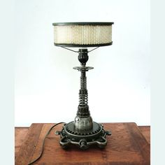 Industrial Table Lamp Tesla Coil by CitiZenoBjeCts on Etsy, $300.00