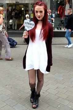 Leeds Style Spotter!!   #fashion #chiarafashion #chiaraspottedme #leeds #streetstyle #boho #monochrome #grunge #90sstyle