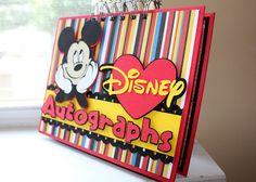 Disney Autograph Books   Custom   Personalized   DIY
