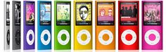 iPod Nano - I have a generation Nano that I LOVE! I listen to tons of audiobooks and music - I take it with me almost everywhere!