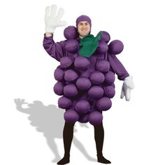 Purple Grapes Adult Costume from BuyCostumes.com