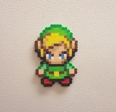 Its dangerous to go alone, take Link! Click the Add to Cart button now, and always have Hyrules greatest hero at your disposal for your battle with Ganon. Impress your fellow Hylians by owning this fun sprites. Be the hero Hyrule needs by placing him on your locker, or fridge. Hang him on