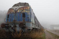 GHOST TRAIN © Copyright Milan Nikola PETROVIC