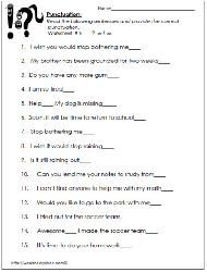 Grammar worksheets commas in a series first grade free comma ending punctuation worksheets 2nd grade ibookread PDF
